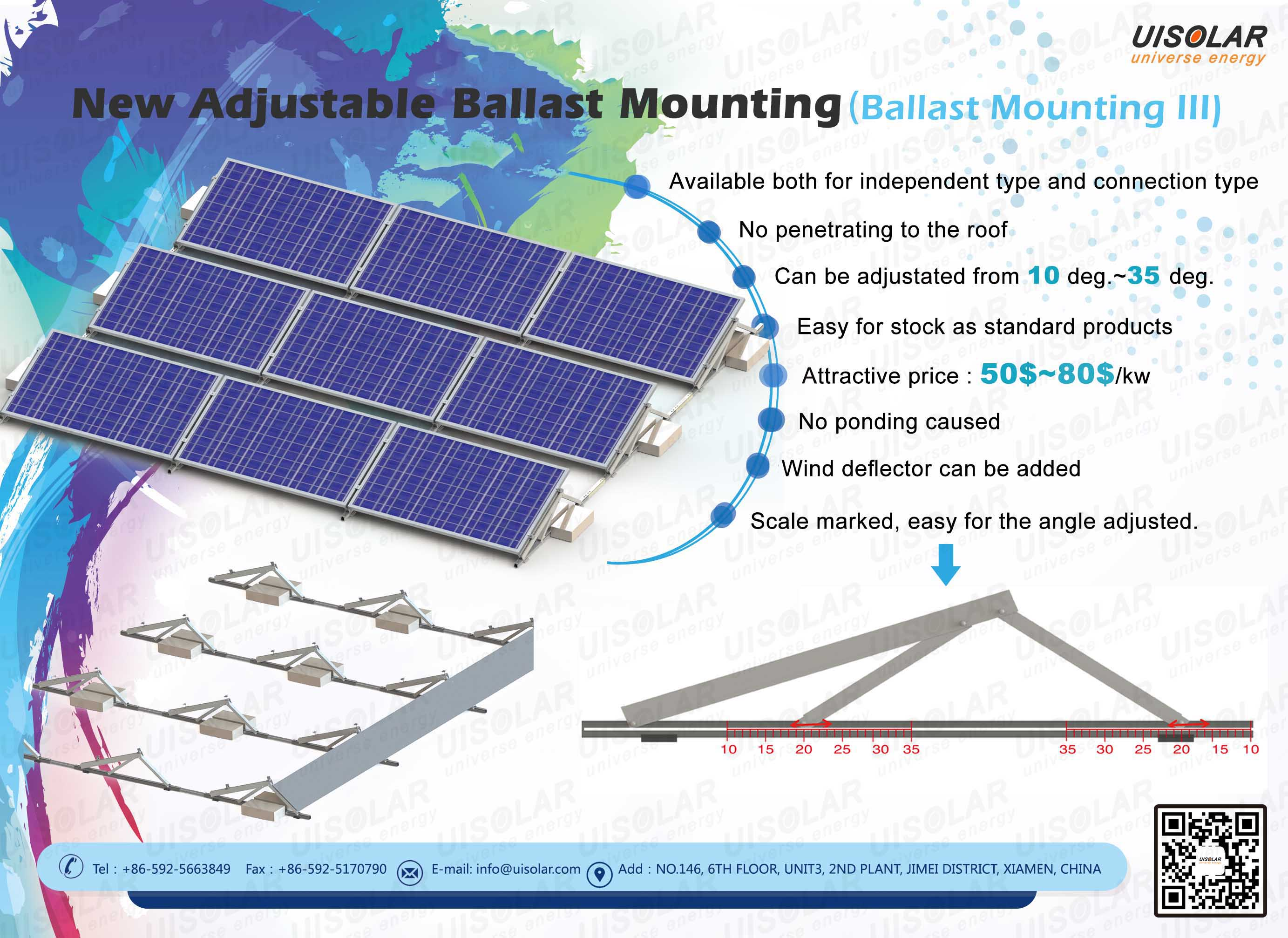 customized Ballast Mounting