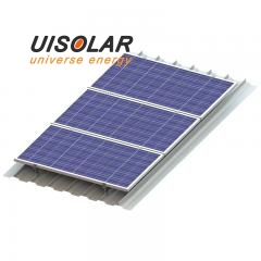 New solar panel metal roof mount